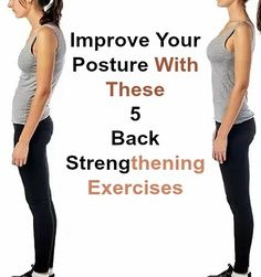 Five Exercises to Improve Posture - mesning