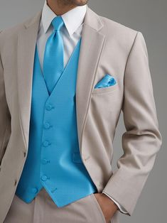 $119 Leisure Slim Fit Two Buttons Business Groom Tuxedos Notch Lapel Beige Groomsmen Suits 2014 Custom Made Wedding Prom Suits For Men DL1312766 from Weddingmuse,$103.94 | DHgate.com