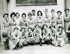 Rockford Peaches 1943 - the first, all woman baseball team from Rockford, IL