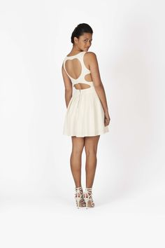 White Dress    available in Sequin    contact@dress-and-hightems.com