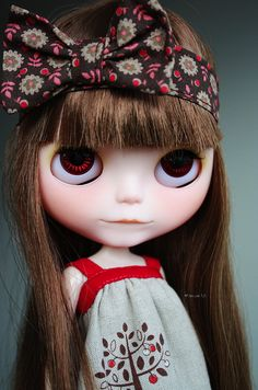 Blythe ~ see she is biting lower lip (first pin of the board at 10/2013)