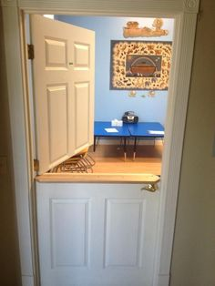 Image result for interior dutch door with shelf