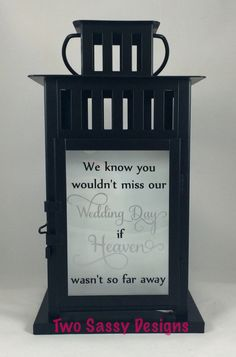 Hey, I found this really awesome Etsy listing at https://www.etsy.com/listing/288960677/memory-lantern-wedding-lantern-memory