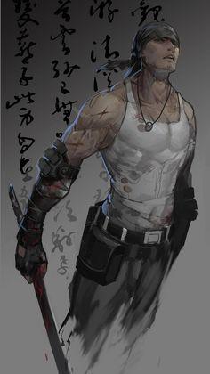 Anime buff guy
