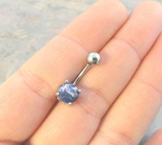 Lapis Lazuli Belly Button Ring Jewelry So unique!