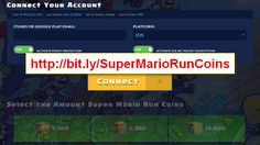 Find out in this fantastic website all the tricks and tips Super Mario Run 2017. We just released a fantastic online generator that will allow you entering your Super Mario Run mail or username to access all the coins you want. This program is simple to use since it has been codified by the best programmer's who deal with TRUE antiban systems.