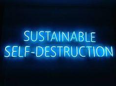 "Saatchi Art Artist Enrique Baeza; Installation, ""Sustainable Self-destruction"" #art"