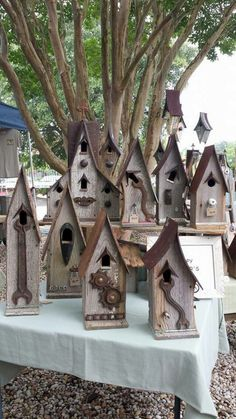 Birdhouse In The Garden That Makes The Park More Beautiful 10