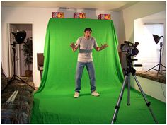 how to avoid 10 common green screen mistakes - aim your shots just behind the subject