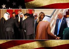 GREAT AGAIN: Unlike Obama, President Trump Did Not Bow When Meeting The King Of Saudi Arabia