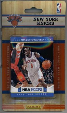 2012-13 Panini NBA Hoops New York Knicks (8 Card) Team Set - Jeremy Lin, Carmelo Anthony, Amare Stoudemire, Woodson, Novak, Chandler, Fields,& Iman Shumpert RC! by 2012/13 Panini NBA Hoops. $8.49