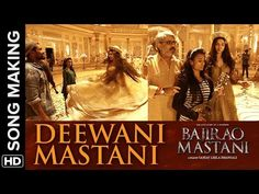Deewani Mastani Song Making | Bajirao Mastani | Deepika Padukone - YouTube