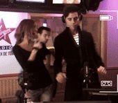 ANIMATED GIF - Mika dancing 2012
