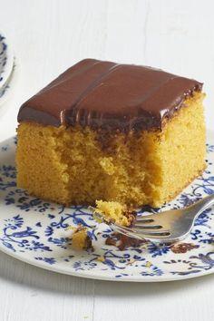 "Nina's Brazilian Carrot Cake | ""I saw this recipe in the Magazine and I just had to try it! This cake was awesome!"" #cakerecipes #bakingrecipes #dessertrecipes #cakes #cakeideas"