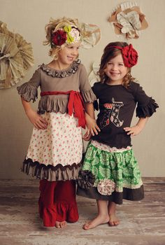 I sooo wish I had a little girl to doll up-well, I've got others to for rt now...maybe one day i'll have my own :))