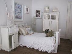 My shabby chic bedroom.