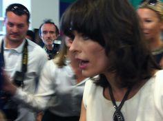 Milla Jovovich (ph Lara Ferrari)  after Cannes film festival now at Fidenza village !