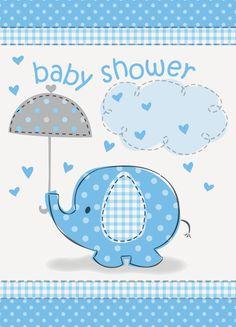 Diseño para invitación de Baby shower