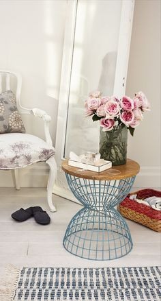 Stay married to the idea of something old, something new, something borrowed, something blue: The old adage will make you fall in love with a room when you mix traditional accent pieces with with modern home decor.