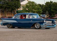 Pro Street Beast: Dennis Deveau's 1957 Chevy