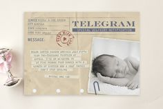 Telegram by Erin Pescetto at minted.com