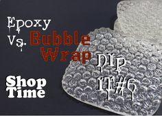 Dip It #6: Bubble Wrap Coasters