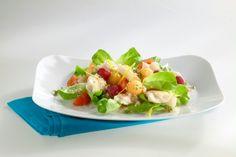 Fruchtiger Pangasius-Salat