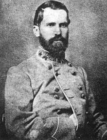Confederate General Abner Monroe Perrin was killed at the Battle of Spotsylvania May 12th 1864.