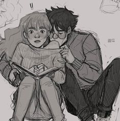Harry Potter Friends, Harry Potter Ships, Harry James Potter, Harry Potter Fandom, Harry Potter Characters, Harry And Hermione Fanfiction, Harry And Ginny, Harry Potter Hermione Granger, Harry Potter Artwork