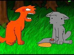 Firestar doesn't like waffles! But srsly LISTEN TO CLOUDTAIL'S VOICE!!!!! LOL!!!
