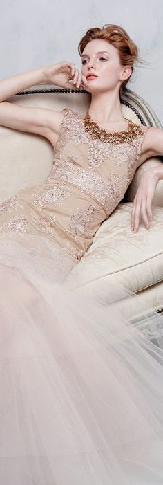 Simply stunning. Notte by Marchesa via @rjaho1. #gowns #NottebyMarchesa