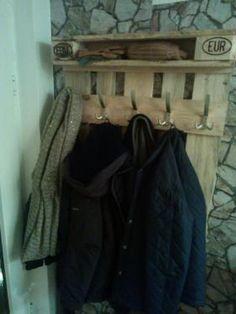(1) Garderobe aus Europalette Unikat in Wunschfarbe in Nordrhein-Westfalen - Velbert | eBay Kleinanzeigen