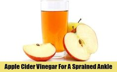 Apple Cider Vinegar For A Sprained Ankle