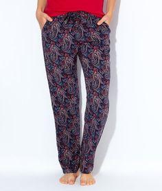 Pantalon large imprimé cachemire - 61cd4503c0f