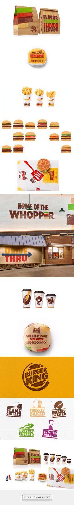 Burger King Rebrand — The Dieline - Branding & Packaging - created via http://pinthemall.net