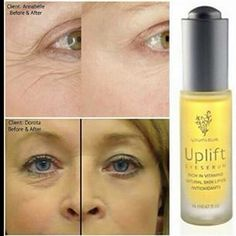 Botox in a bottle!! Naturally based!! Gets rid of and prevents fine lines and wrinkles!!