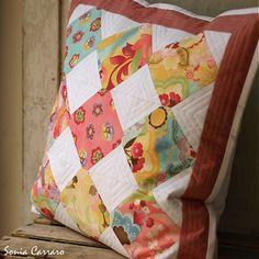 Barevné čtverce by carraro - SAShE.sk - Handmade Úžitkový textil