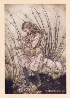 How Arthur Rackham's 1907 Drawings for Alice in Wonderland Revolutionized the Carroll Classic, the Technology of Book Art, and the Economics of Illustration – Brain Pickings