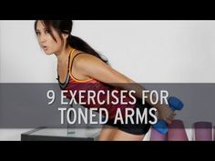 9 Exercises For Toned Arms - YouTube