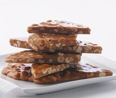 Southern Peanut Brittle Recipe // from Grant MacPherson's In the Vicking Kitchen cookbook // Photographer Bil Milne Peanut Brittle Recipe, Brittle Recipes, Brownie Recipes, Candy Recipes, Dessert Recipes, No Bake Desserts, Delicious Desserts, Yummy Food, Homemade Candies