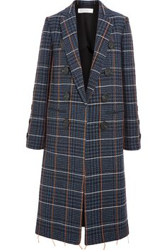 VICTORIA BECKHAM Embroidered houndstooth wool coat  $4,750.00 https://www.net-a-porter.com/product/751383