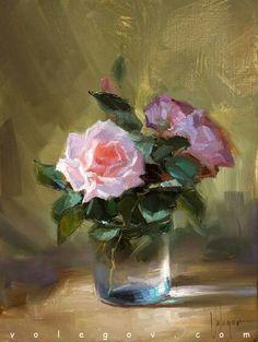 """V.Volegov  """"roses in december"""""""