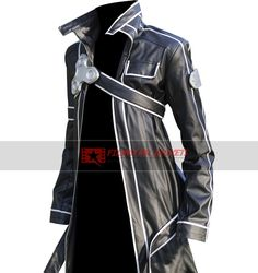 Sword Art Online Kirito Leather Coat