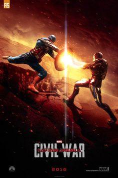 Captain America - Civil War - AndrewSS7 ----
