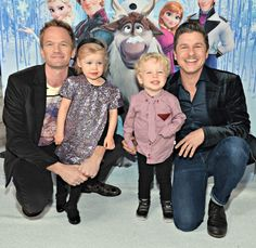 Neil Patrick Harris and Family TOO Cute!!! #NPH