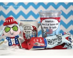 Mommy Katie: #Giveaway Maxine's Stars and Stripes Hallmark Prize Pack