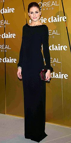 Olivia Palermo #ModestHollywood  this is perfect for a semi-formal event. the neckline makes it.
