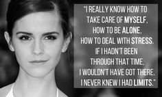 15 Of The Most Empowering Things Emma Watson Has Ever Said... We need more Emma Watsons, fewer Kardashians.
