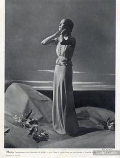 Madeleine Vionnet 1937 Photo Philippe Pottier, Dinner Suit