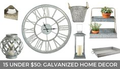 Fixer upper finds | Fixer upper inspired decor | Target home decor finds | Galvanized home decor at Target | Fixer upper inspired home | GinaKirk.com @ginaekirk